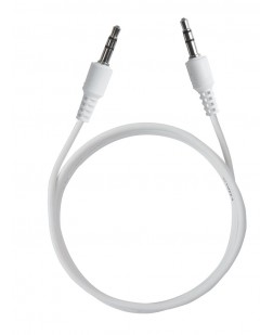 ERD PC-11 1 Mtr 3.5mm Jack Male To Male Aux Cable (White)