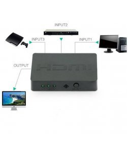 Terabyte 3 Port HDMI Switch / Switcher