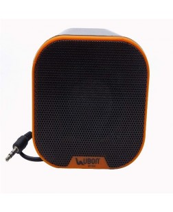 Ubon SP-630 Multimedia Mobile/ PC Speaker (Orange)