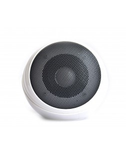 UBON SP-815 Mini Mobile Music Speaker With Over 6 hours Backup (White & Black)