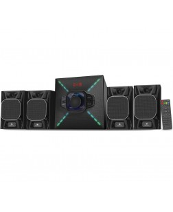 Zebronics Cube 4-BT RUCF Bluetooth Home Audio Speaker (Black)