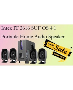 Intex IT-2616SUF-OS 4.1 Computer Multimedia Speakers (Grey)