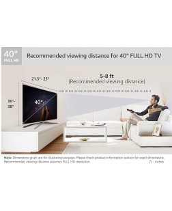 Imported IMFHD40N1 40 Inch Full HD Led Television