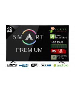 Weston WEL-4000S 101 cm (40 Inch) Smart LED TV Full HD Telivision