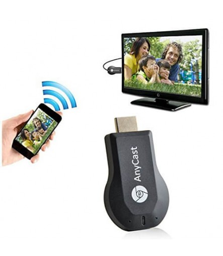 AnyCast M4 Plus WiFi HDMI TV Stick Dongle - ORIGINAL (100 % Genuine Wireless Display)