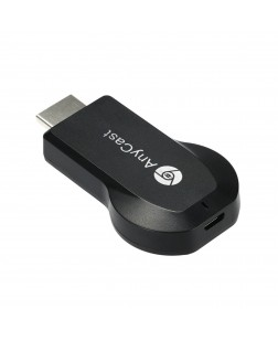 AnyCast M2 Plus DLNA/Wifi Display Receiver/Chromecast/Airplay WiFi 1080P FHD HDMI TV Stick Dongle (Black)