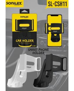 Sonilex Car Holder or Mobile Stand for All Smartphones (SL-CSH11,