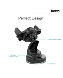 Toreto TOR-157 Multi Function Car Mobile Holder