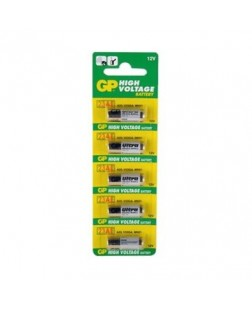 GP 12v High Voltage alkeline battery set of 5