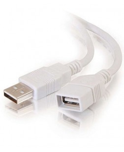 Terabyte USB 3.0 1.5 Meter Extension cable Female to Male for High Speed Transmission TB-UB-0110 (White)