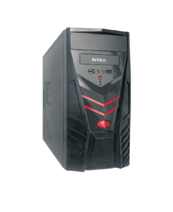 Intex IT 216 Smps USB Cabinet (Black)