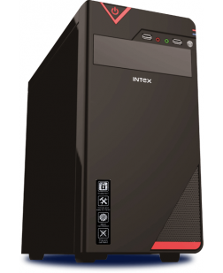 INTEX IT-412 USB CABINET WITHOUT SMPS (BLACK)