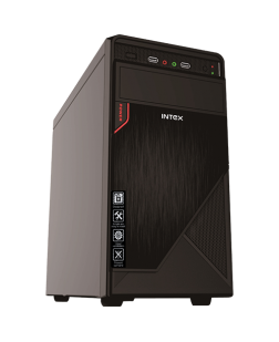 Intex IT-413 USB Cabinet with SMPS (Black)