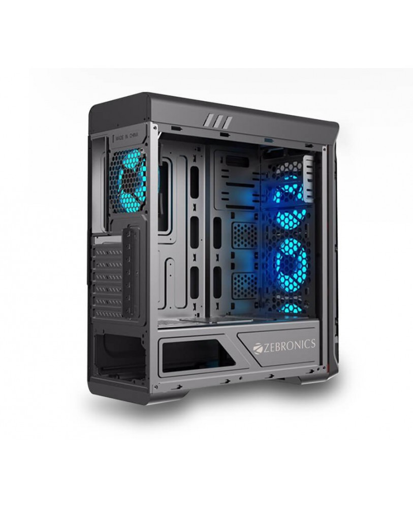 Buy Zebronics Ares Computer Case Cabinet Online At Lowest