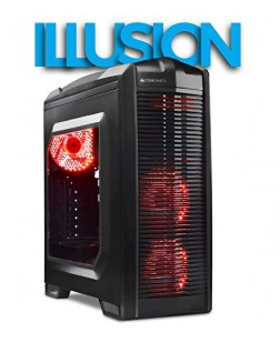ZEBRONICS ILLUSION GAMING COMPUTER CASE