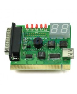 Motherboard tester for laptops with 5 LED indicator,USB powered