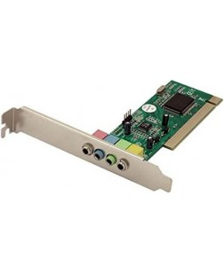 PCI Sound Card 4 Channel from Technotech Compliant with PCI 2.1/2.2 PCI/APM 1.2/ACPI 1.1/PPMI 1.1