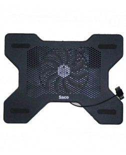 Cooling Pad for 12-17 inch Gaming Laptops, Notebooks, Laptops Cooling pad for notebook PC with adjustable height and built-in powerful noiseless fan with 1 year warranty and free shipping (plug & play)