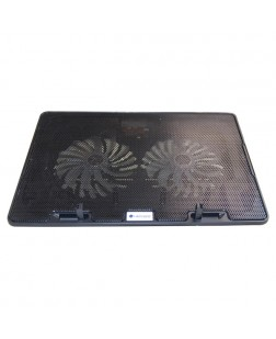 Lapcare ChillMate DCX-A101 Dual Fan Laptop Cooler (Black)