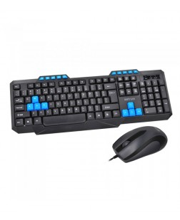 Astrum KC110 Classic USB computer Keyboard and Mouse online with 114 keys + multimedia keyboard/Mouse for laptop