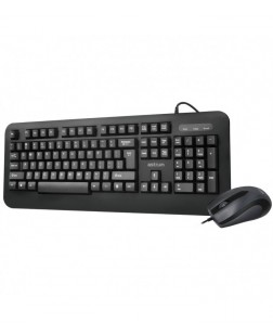 Astrum KC120 Classic USB computer Keyboard and Mouse online with 104 keys + multimedia keyboard & Mouse for laptop with 1 year Warranty