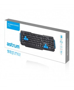 Trendy Stylish Astrum KM500 multimedia USB Keyboard online with 104 keys + Multimedia keyboard for laptop & Desktops with 1 year Warranty