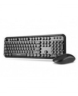 Astrum KW300 Wireless Keyboard + Mouse DesksetTrendy Stylish Astrum KW300 Wireless Keyboard & Mouse online: Wireless keyboard + Mouse for laptop & Desktops with 1 year Warranty