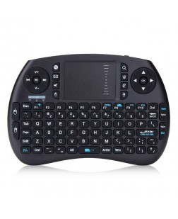 Mini Portable Wireless Keyboard with built-in Mouse combo