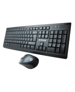 Lapcare L901 Wireless Keyboard Mouse Combo (3 years Warranty) with 104 keys for laptop, desktop, notebook, pc, smart tv