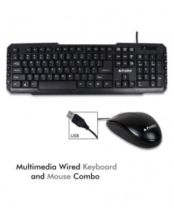 ProDot TRC-107+273 Black USB Wired Keyboard Mouse Combo