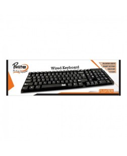 ProDot KB-PROLITE-FLOATER Wired USB Keyboard with 103 Keys and rupee font for laptops, desktop, PC, Home/office/court documentation use with 1 year warranty by Prodot