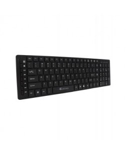 TechnoTech Wired USB Slim Keyboard Black (KB-790) for PC and Laptop