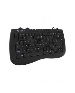 TechnoTech Mini USB Keyboard  (KB-301A) with 88 keys, portable keyboard for laptop, Desktop, PC, Computer, Home and office use with 1 year Warranty from Technotech