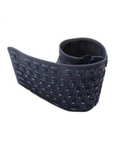 TechnoTech USB Flexible Wired Keyboard (Silicon Folding)