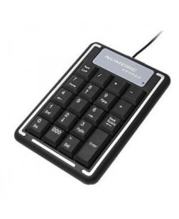 TechnoTech USB Numpad, Numeric Keyboard for Accounting, Lawyers, Banking, Staff & all office related work, fast, efficient, easy plug and play with 1 year warranty from Technotech