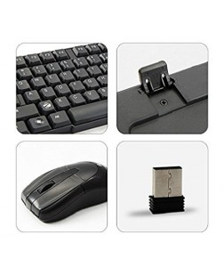 Zebronics Companion-6 Wireless Keyboard and Mouse Combo with 104 Keys and 1 year warranty from Zebronics