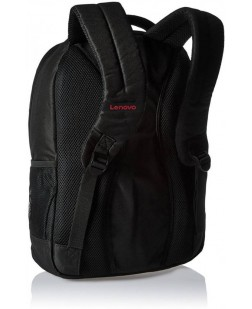 LAPTOP BAG LENOVO Backpack 15.6 ( 3 - Laptop Compartment, Zip Closure, Shoulder Strap, Back Padding, Adjustable)