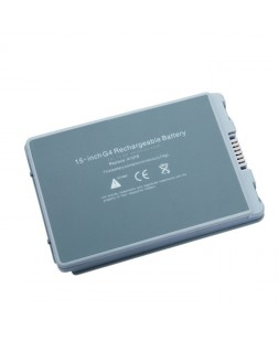 "Irvine Laptop Battery for Apple PowerBook G4 15"" A1106, PowerBook G4 15"" Aluminum Series series with model 661-2927, A1045, A1078, A1106, A1148, E68043, M9325, M9325G"