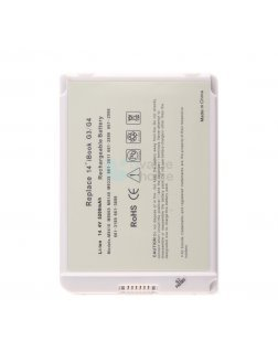 Irvine Laptop Battery for Apple IBook A1007, IBook G3 14 inch M7701J/A, IBook G3 14 inch M7701LL/A series with model 6612611, 6612886, 6612998, 6613189, 6613699, A1062, A1080