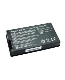 Irvine Laptop Battery for Asus A8 Series, A8Dc, A8F, A8Fm, A8H, A8He, A8J, A8Ja series with model 70-NF51B1000, 90-NF51B1000, A32-A8