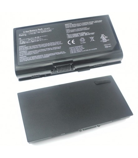 Irvine Laptop Battery for Asus M70SA, M70TL, M70VM, M70L, M70SR, M70V  series with model 07G0165A1875, 15G10N3792T0, 70-NFU1B1300Z