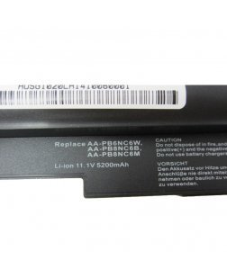 Irvine Laptop Battery for Samsung N110 (noir), N110 Série, N110-12PBK with model AA-PB6NC6W, AA-PB6NC6W/E