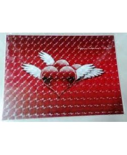 laptop Decal back sticker & skins vinyl customized with 3d bubbles 11 inches to 15.6 inches (all sizes)