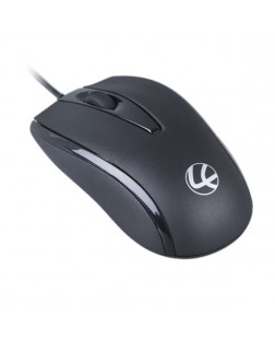 Lapcare L-70 PLUS PS2 Mouse (Black, 1 Year Warranty)