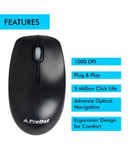 Prodot MU-273S USB Wired Mouse