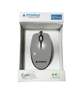 Prodot PMU-273T USB Wired Mouse very color