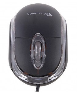 Technotech Wired USB Optical Mouse Big Black (TT-A01)