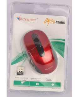 Technotech Wireless Optical Mouse TT-G07 (Red & Black)