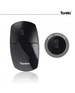 Toreto TOR-952 Optical Wireless Mouse with Free Mouse pad