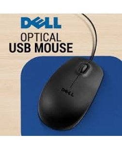 Dell MS111 3-Button Wired USB Optical Mouse